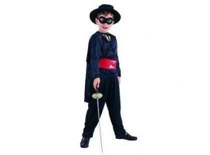 Made Dětský kostým Zorro vel. M