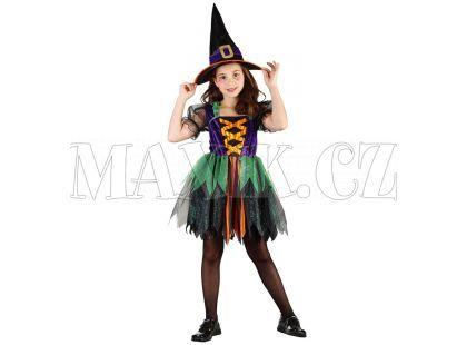 Made Dětský kostým Čarodějka mini vel. M