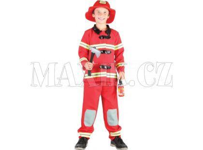 Made Dětský kostým Hasič 120-130 cm
