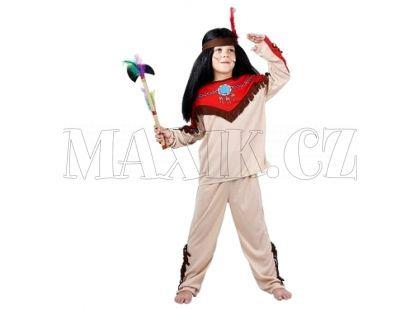 Made Dětský kostým Indián vel. M