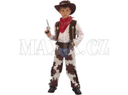 Made Dětský kostým Kovboj 120-130 cm