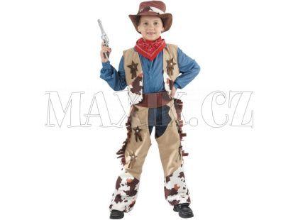 Made Dětský kostým Kovboj béžová 120-130 cm