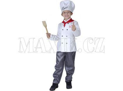 Made Dětský kostým Kuchař 130-140 cm