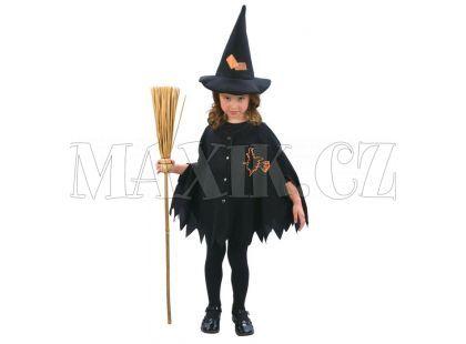 Made Dětský kostým Malá čarodějka vel. XS