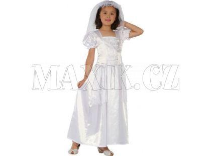 Made Dětský kostým Malá nevěsta 120-130 cm