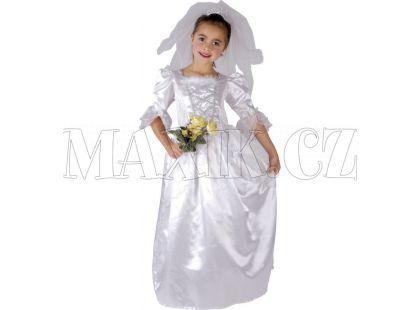 Made Dětský kostým Nevěsta 120-130 cm