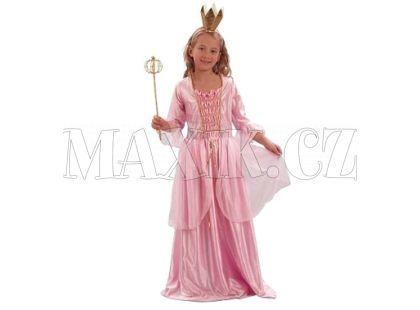 Made Dětský kostým Princezna růžová vel. S
