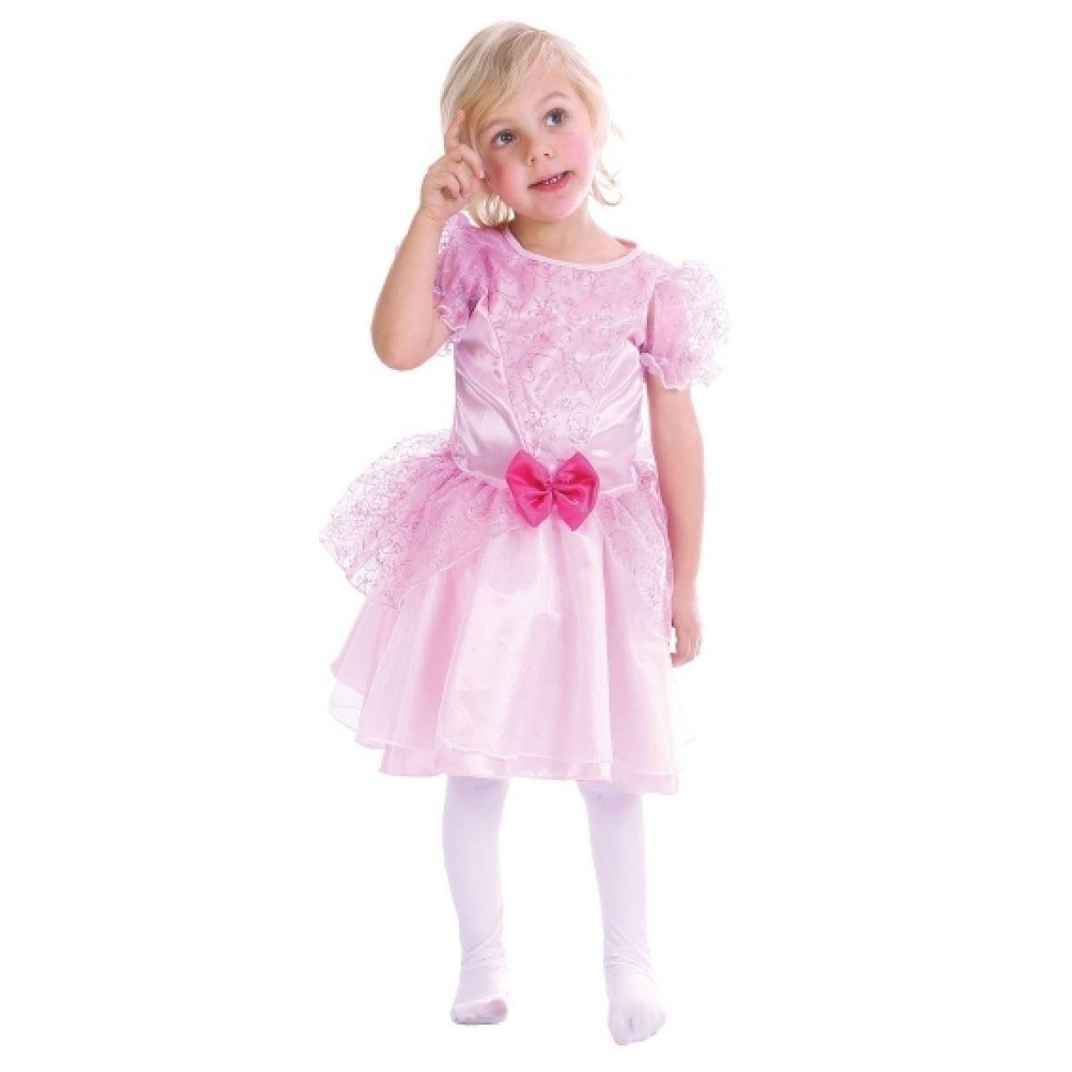 Made Dětský kostým Princezna růžová vel. XS
