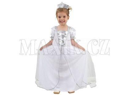 Made Dětský kostým Princezna s korunkou malá vel. XS