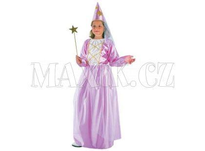 Made Dětský kostým Víla s kloboukem 110-120cm