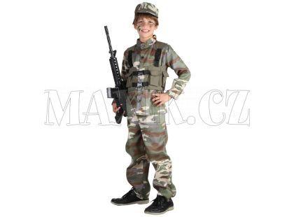 Made Dětský kostým Voják 120-130cm