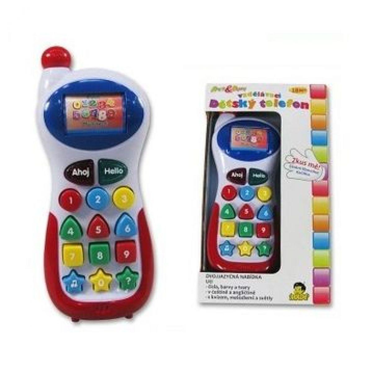 Made Dětský vzdělávací telefon