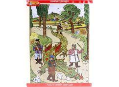 MaDe Josef Lada Puzzle 24d Spoutaný drak
