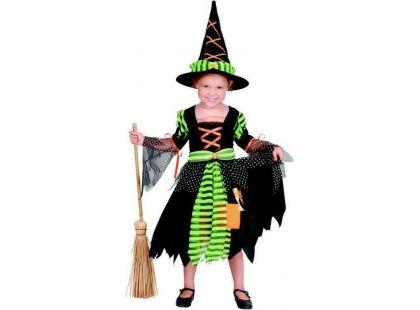 Made Karnevalový kostým Čarodějka 92-104cm