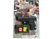 Made Kuličková pistole černá 11cm s kuličkami