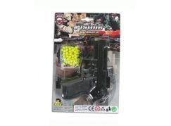 Made Kuličková pistole černá 15cm