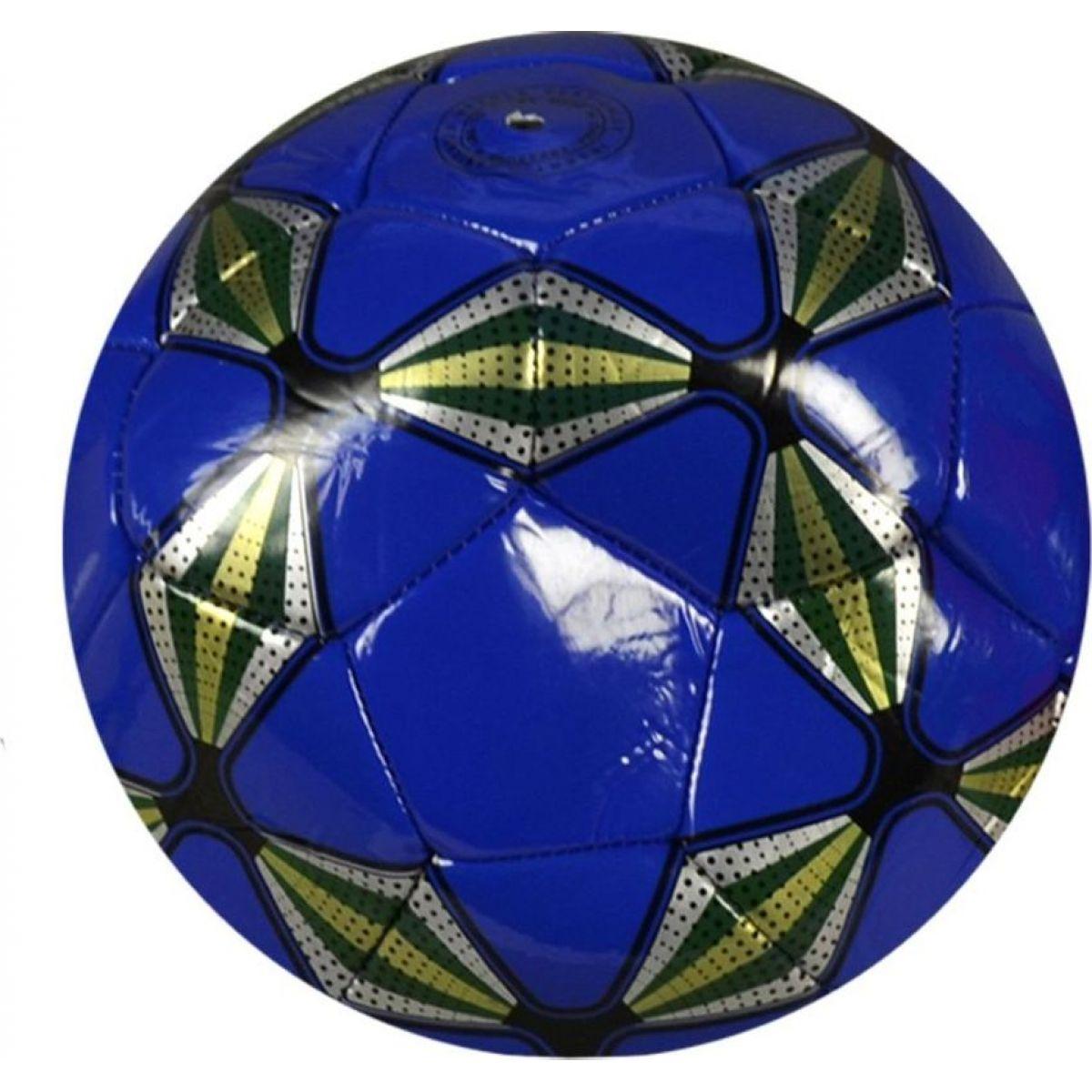 MaDe Míč fotbalový 23 cm modrý