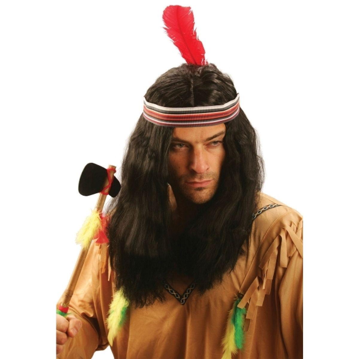 Made Paruka Indián s čelenkou