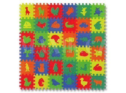 Made Pěnové puzzle Mix 36ks