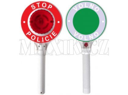 Made Policejní plácačka se světlem
