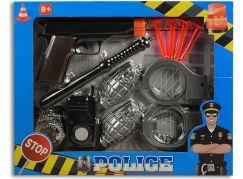 MaDe Policejní souprava s pistolí