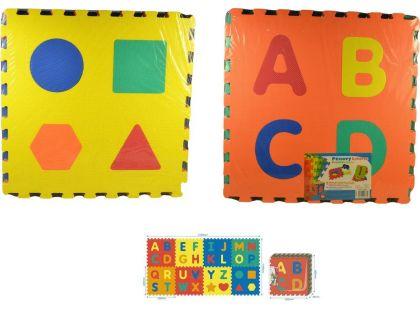 MaDe Puzzle pěnové - Abeceda 8 ks - 60 x 60cm