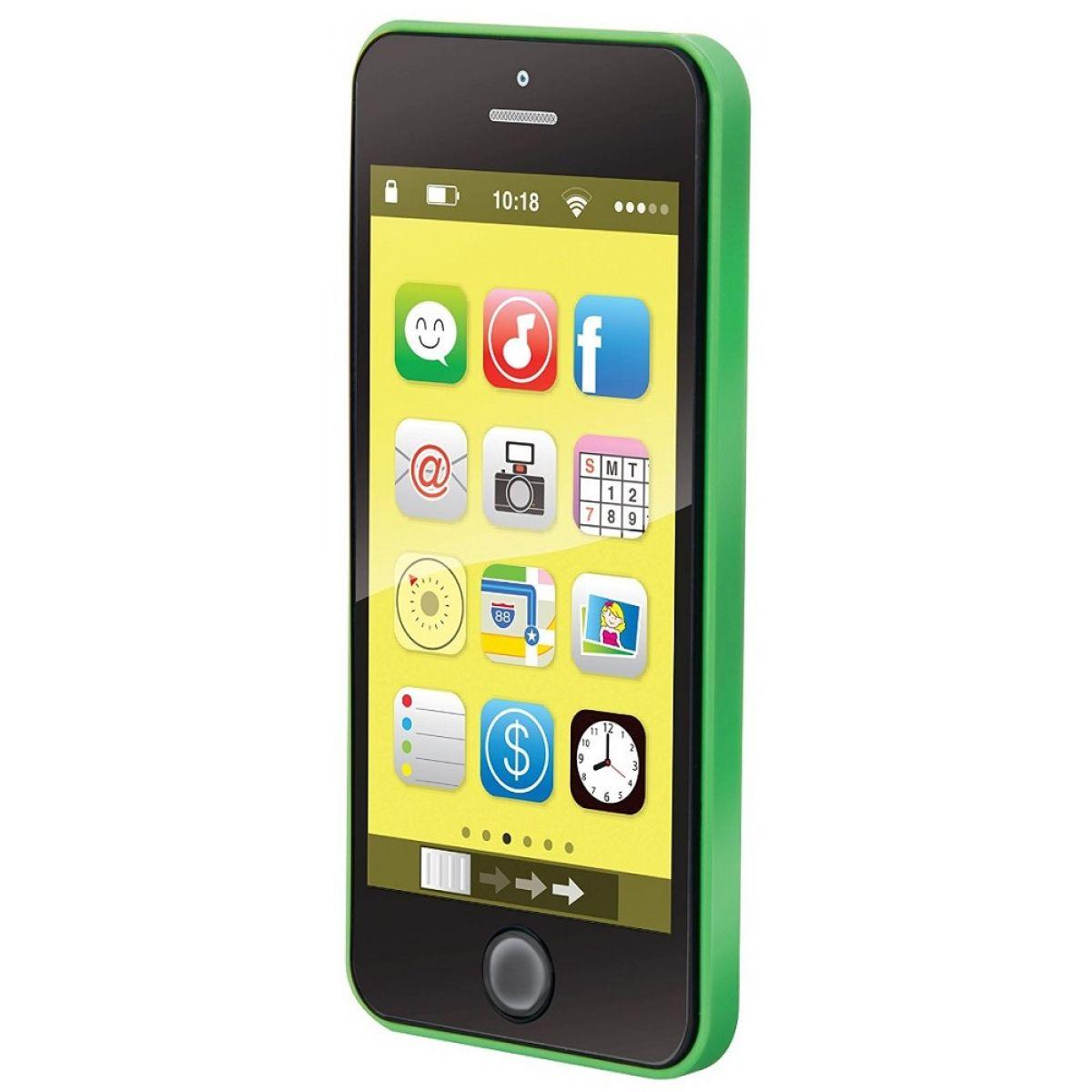 Made Smart phone 40 melodií - Zelená