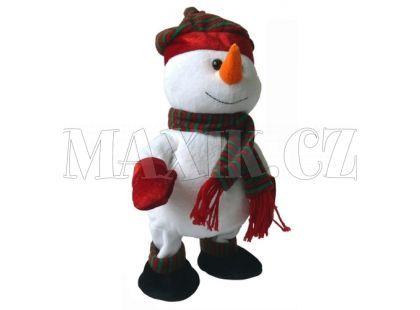 Made Sněhulák, chodí, tancuje 30 cm