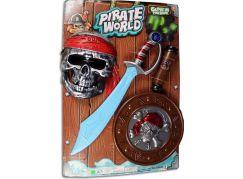Made Souprava pirátská na baterie + meč 45cm