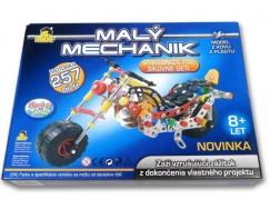 MaDe Stavebnice Malý mechanik motorka