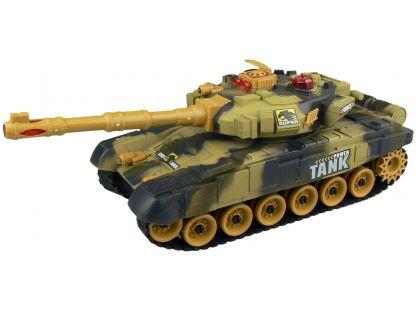Made Tank na dálkové ovládání - hnědý