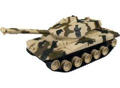 Made Tank na dálkové ovládání s pásy - Béžový