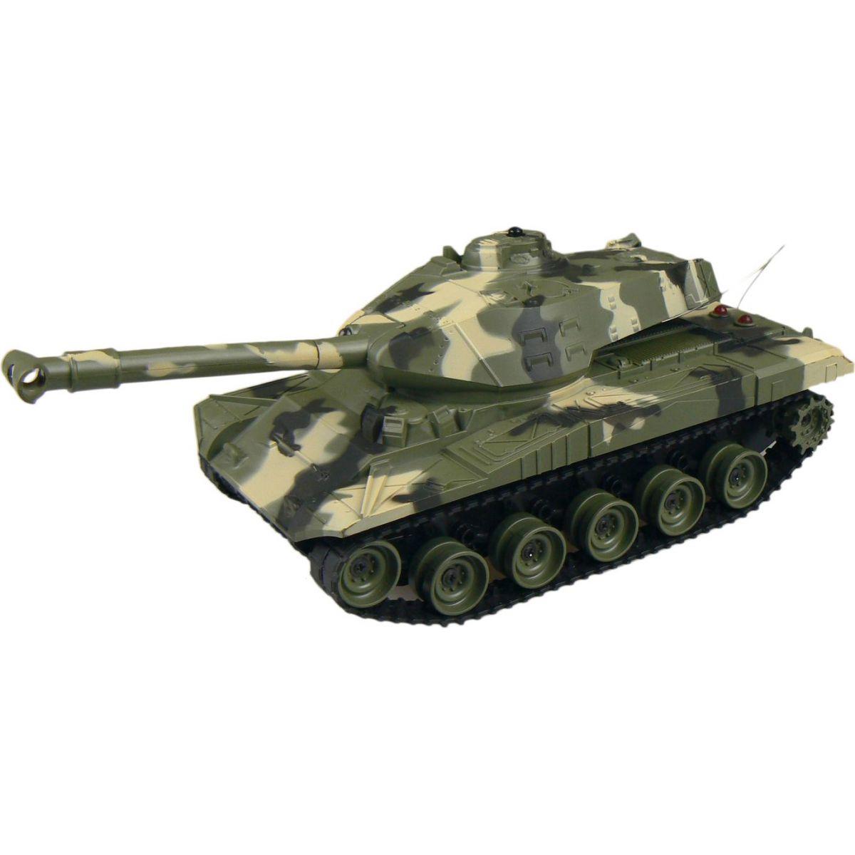 Made Tank na dálkové ovládání s pásy - Zelený