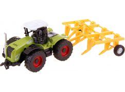 Made Traktor s nástroji na zpětný chod brána oranžová