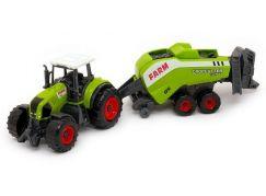MaDe Traktor s přívěsem 27 cm Balíkovač 3400