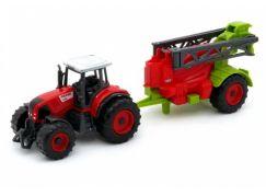 MaDe Traktor s přívěsem 27 cm Postřikovač 730