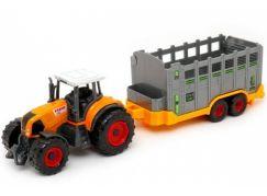 MaDe Traktor s přívěsem 27 cm Přepravník Stock Trailer