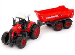 MaDe Traktor s přívěsem 27 cm Valník Tipping  Trailer
