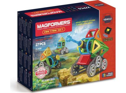 Magformers Mini Tank 27ks