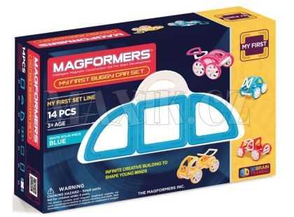 Magformers My first Buggy car modrá 14ks
