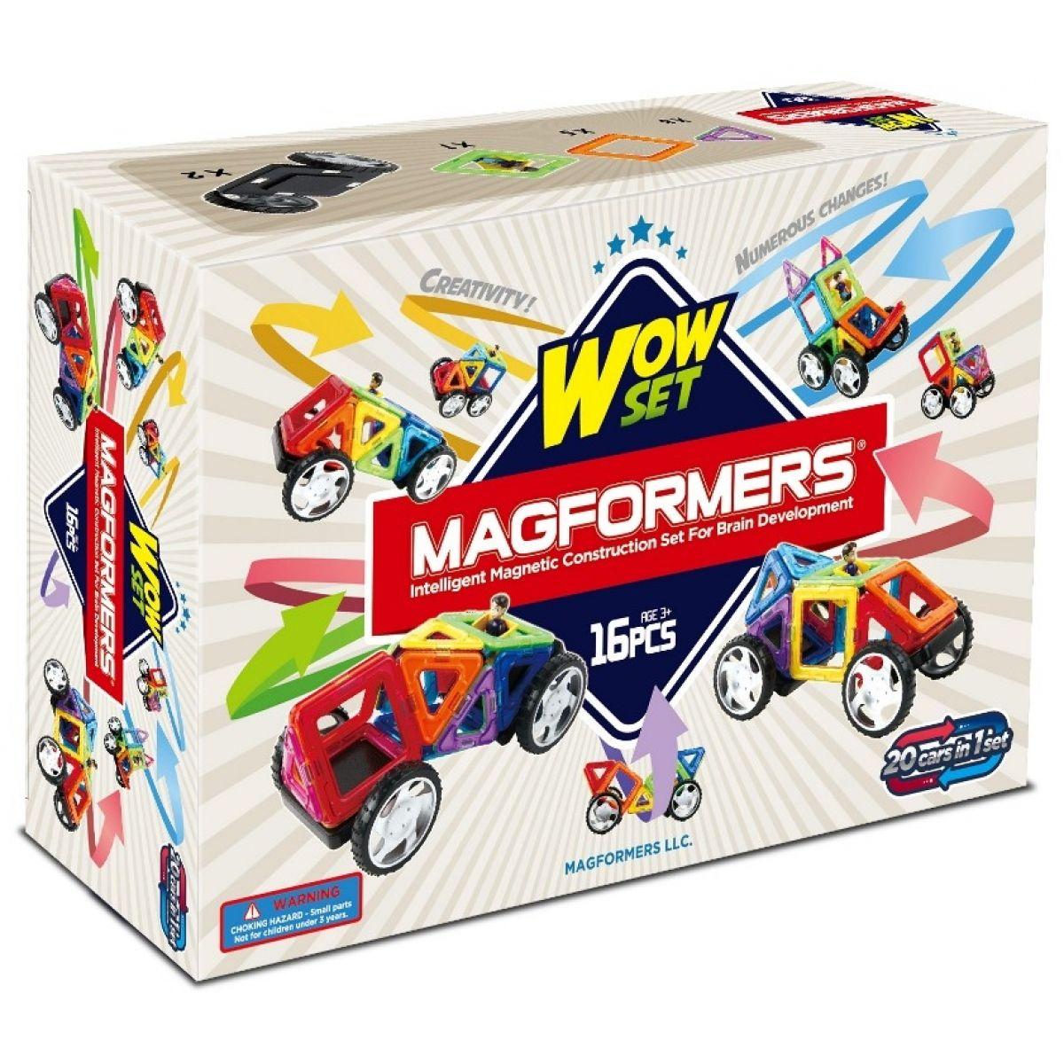 Magformers Wow! Starter - 16 ks