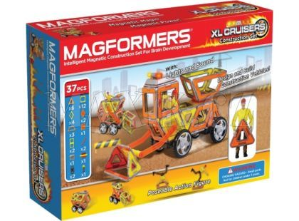 Magformers XL Cruisers - Stavební auto 37 ks
