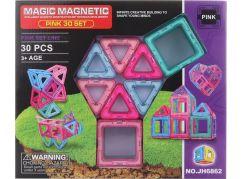 Magnetická stavebnice 30 dílků