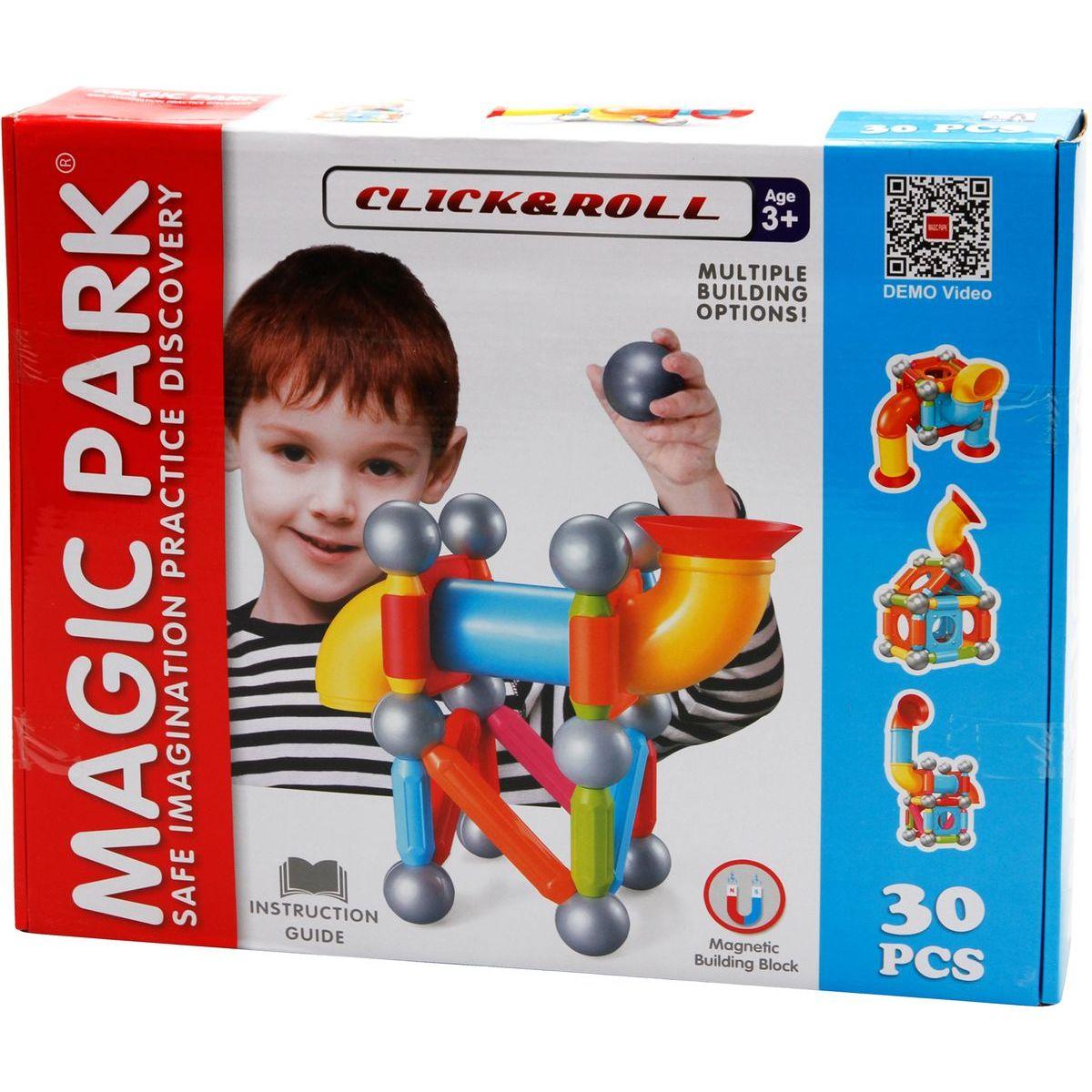 Magnetická stavebnice Magic Park 30