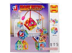 Magnetická stavebnice Magnetic Sheet 30