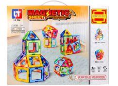 Magnetická stavebnice Magnetic Sheet 46