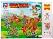 Magnetická stavebnice Magnetic Sheet 89