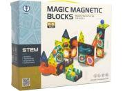 Magnetická stavebnice plast 66 dílků