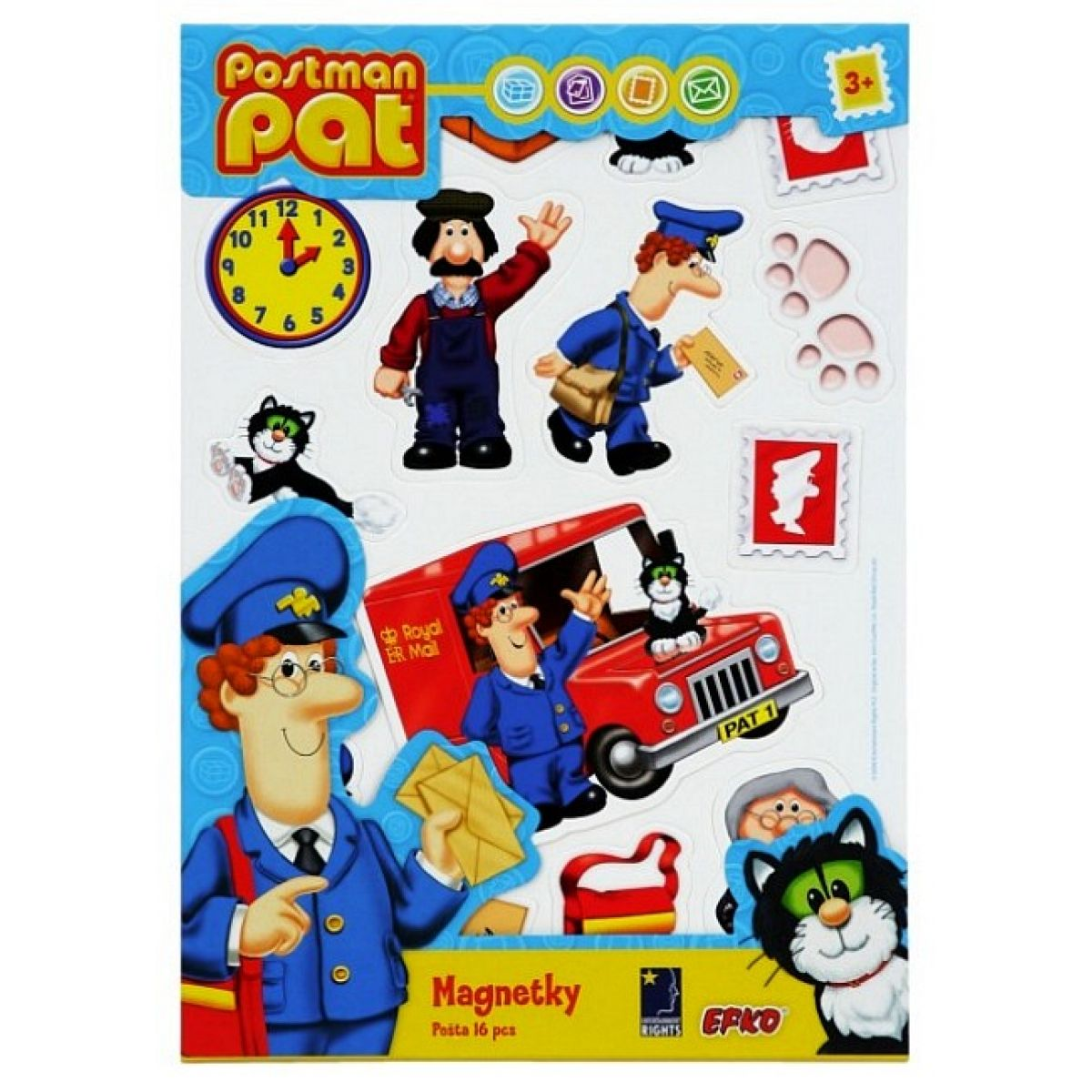 Magnetky PAT pošta