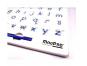 Magpad Magnetická kreslící tabule ABC Malá písmena 2